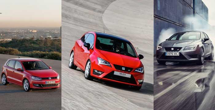 El Seat Ibiza y el León junto al Volkswagen Polo, los tres coches más vendidos en mayo de 2014