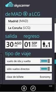 Skyscanner, la app que busca y compara vuelos