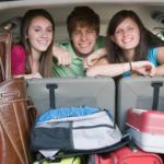 ¿Cómo colocar el equipaje en el coche?
