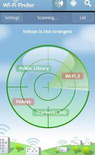 Free WiFi Finder, la app que busca las redes wifi abiertas disponibles más cercanas