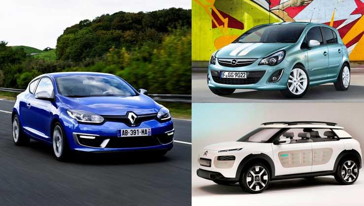 Mégane, Corsa y C4: los tres coches más vendidos en junio de 2014