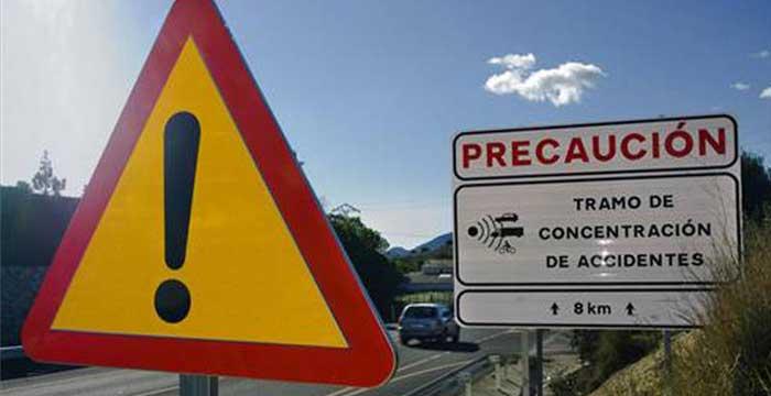 ¿Conoces dónde están los puntos negros en las carreteras españolas?