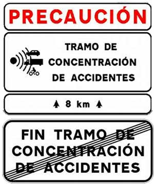 597 puntos negros en las carreteras españolas