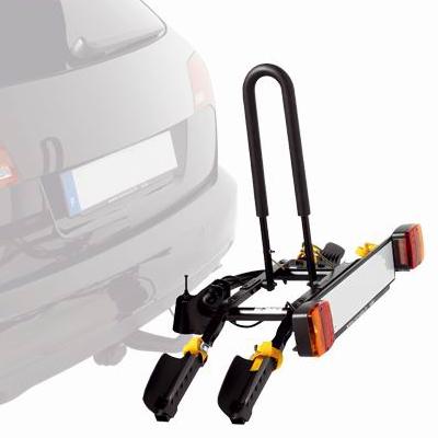 El portabicicletas de bola, una opción para transportar la bici en el coche