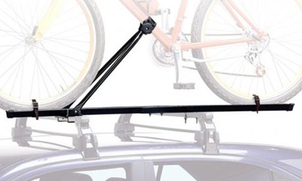El portabicicletas de techo, una opción para transportar la bici en el coche