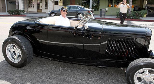 Sylvester Stallone cuenta con un coche estilo inglés de los años 20