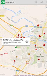 Combusfree, una app para encontrar gasolina barata