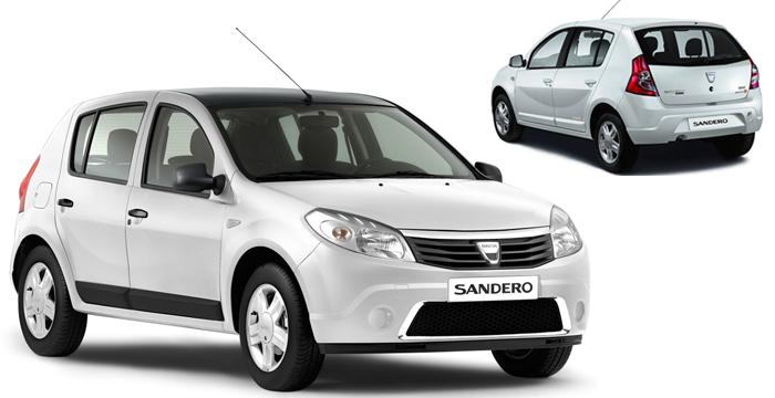 El Dacia Sandero, el coche más vendido en agosto en España