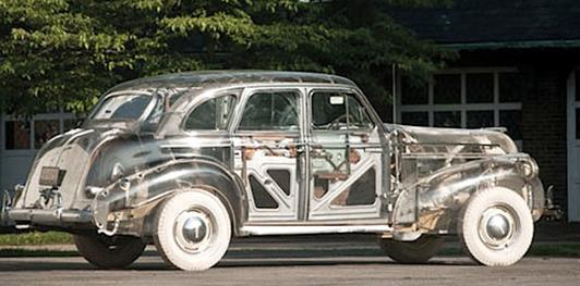 Pontiac Deluxe Six de 1939, el primer coche transparente... ¡Un fantasma!