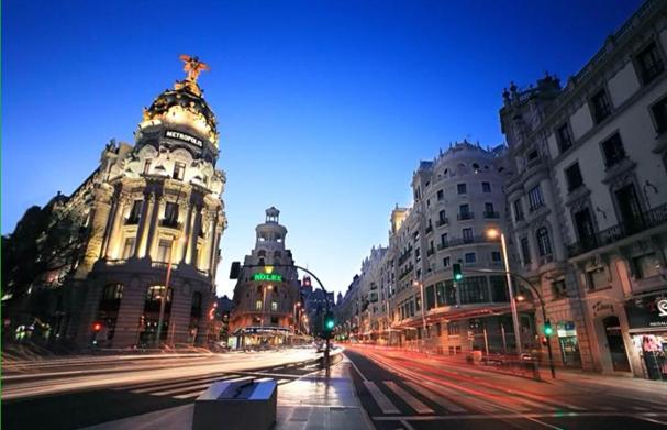 """La Calle Gran Vía, en Madrid, clave en """"Abre los ojos"""""""