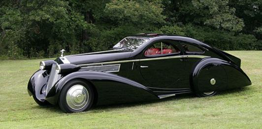Rolls-Royce Phantom 1 Jonckheere Coupé de 1925... ¡Aterrador!