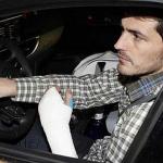 Conducir con escayola: ¿me pueden multar?