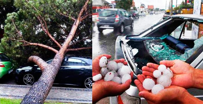 ¿Quién paga los daños en el coche del granizo o una inundación?