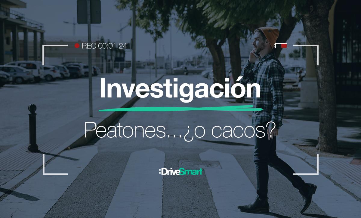 Investigación: ladrones en pasos de peatones