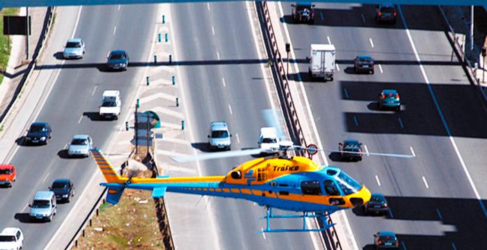 La DGT busca cuidadores para sus helicópteros por 400.000 euros anuales.