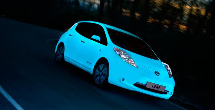 Nissan Leaf, un coche con luz propia