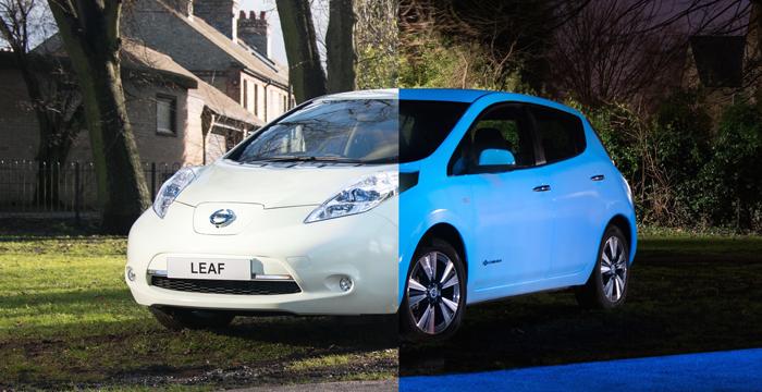 Nissan Leaf, ¿el adiós a las luces en carretera?