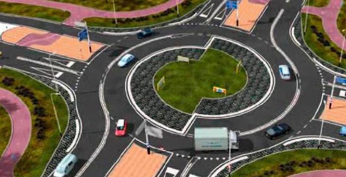 ¿Cómo circularán los camiones y ciclistas por las turbo rotondas?