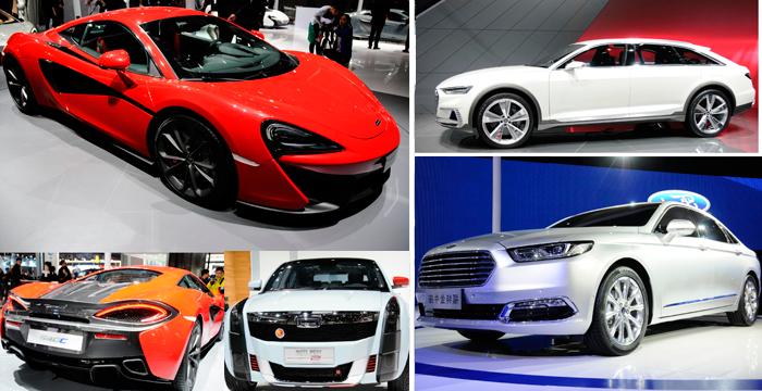5 coches increíbles del Salón de Shanghái 2015