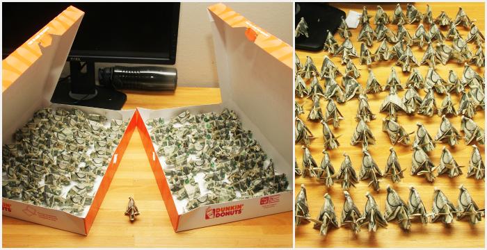 Pagar multa con origami... ¡es posible!