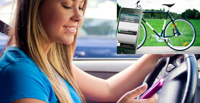 ¿Whatsapp al volante? ¿Teléfono en bici?