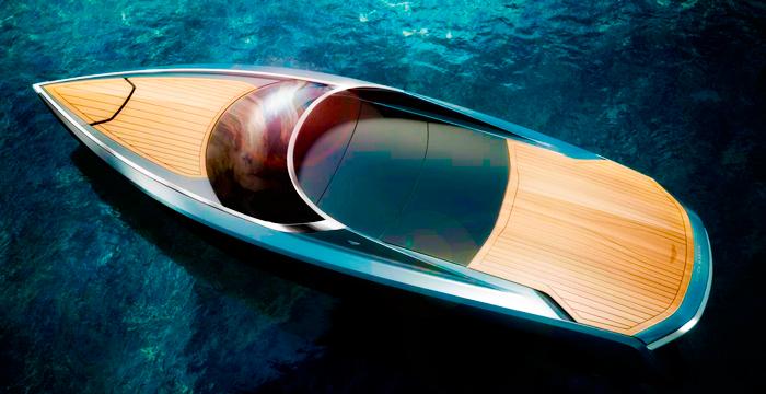 Le yacht d'Aston Martin