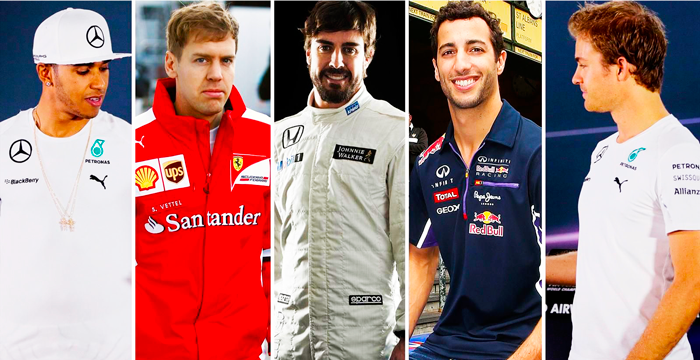 Los sueldos de los pilotos mejor pagados de la F1