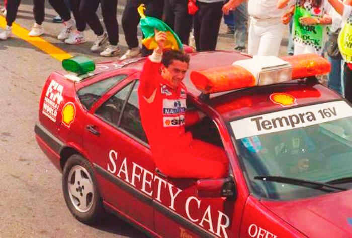 Fiat Tempra, el segundo coche de seguridad de la historia, en 1993