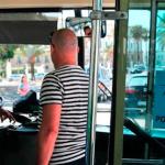 ¿Distraer a un conductor de autobús? ¡Multa!