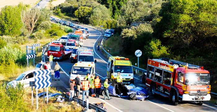 ¿Me pueden multar si transporto en mi vehículo a un herido en accidente de tráfico?