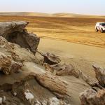 Cristina Gutiérrez, una pilota contra el desierto de Qatar