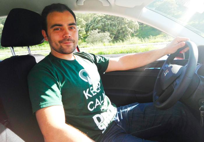 Jaime Salomón, el ganador de marzo del Reto :DriveSmart