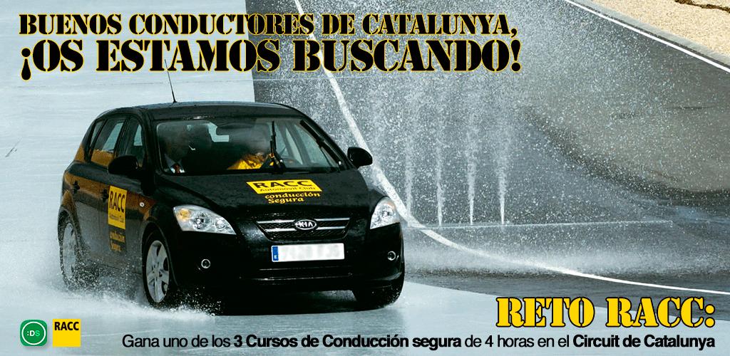 ¿Conduces en Catalunya? Apúntate al Reto RACC con DriveSmart