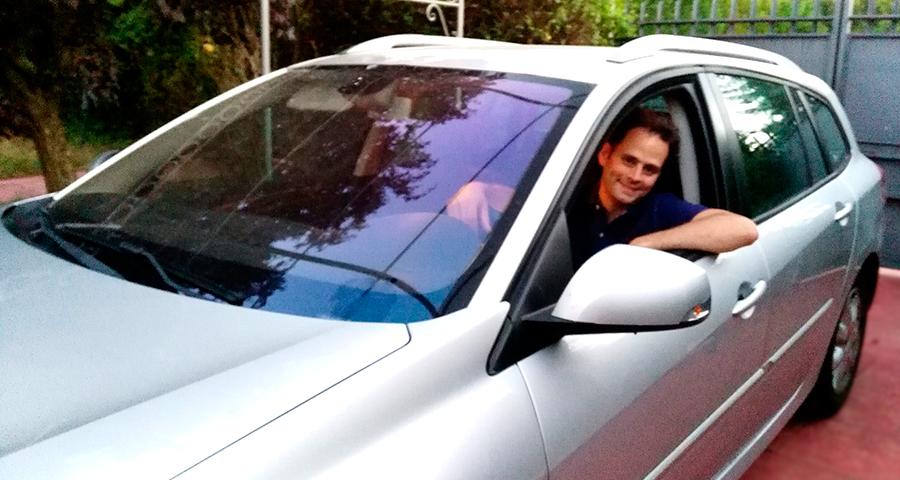 Sergio González Ortega es el ganador del seguro del coche de regalo, con el Reto DriveSmart