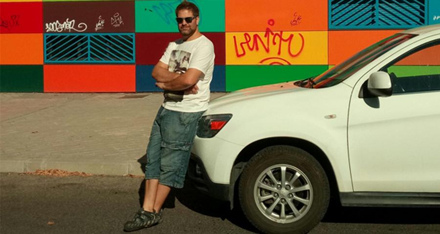 Ángel Manuel Muñoz, ganador del Reto :DriveSmart de julio