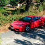 Ferrari 360 Modena, embargado, sin protección ni custodia… ¿legal?