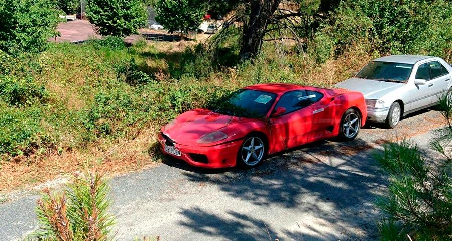 Ferrari 360 Modena, embargado y sin protección ni custodia: ¿Es legal?