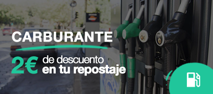 Descuento en gasolina
