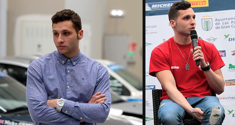 Cristian García, el piloto zaragozano de 26 años que compite por ganar el campeonato absoluto