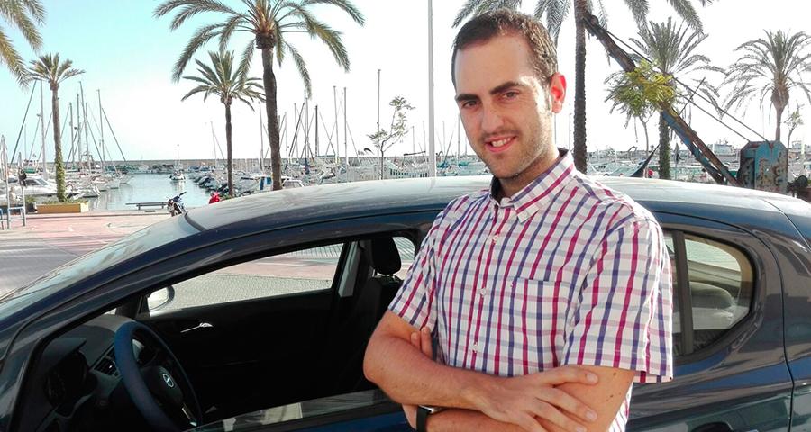 José María Pareja, ganador del Reto :DriveSmart de agosto