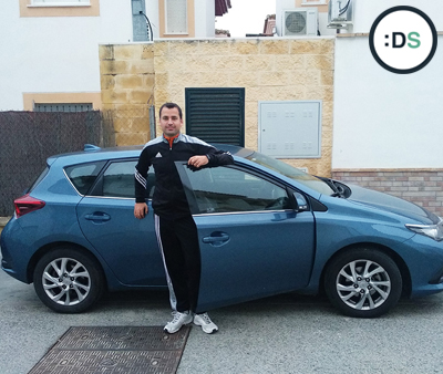Jesús Prieto - Ganador del Reto :DriveSmart