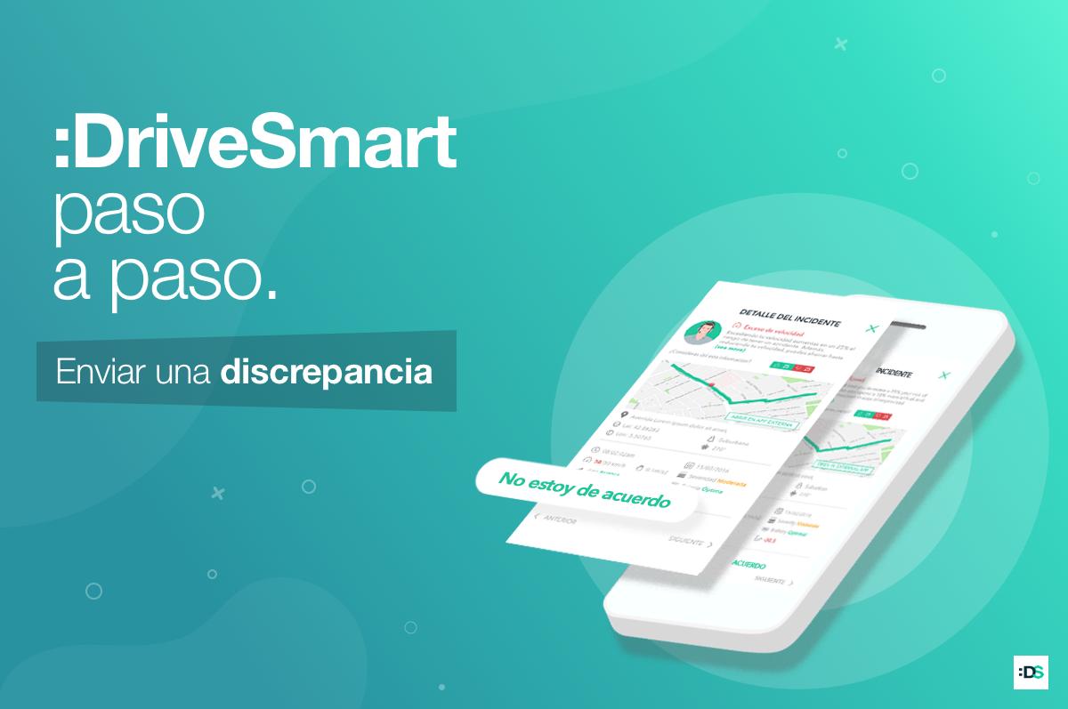 Enviar discrepancias con :DriveSmart