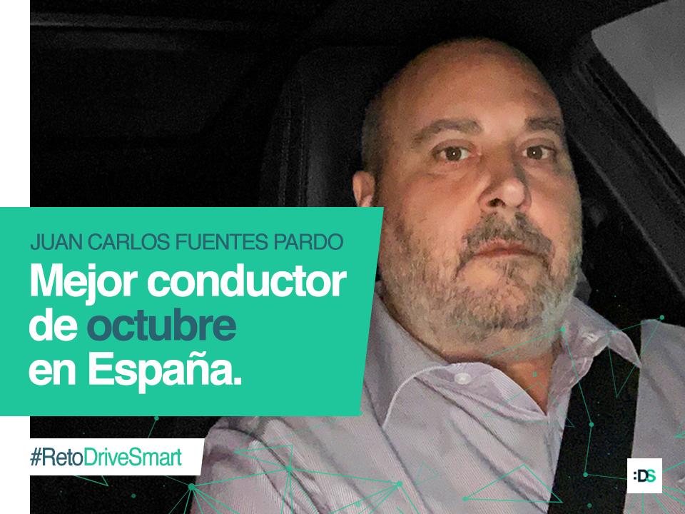 Entrevista a Juan Carlos Fuentes Pardo, ganador del reto :DriveSmart de octubre