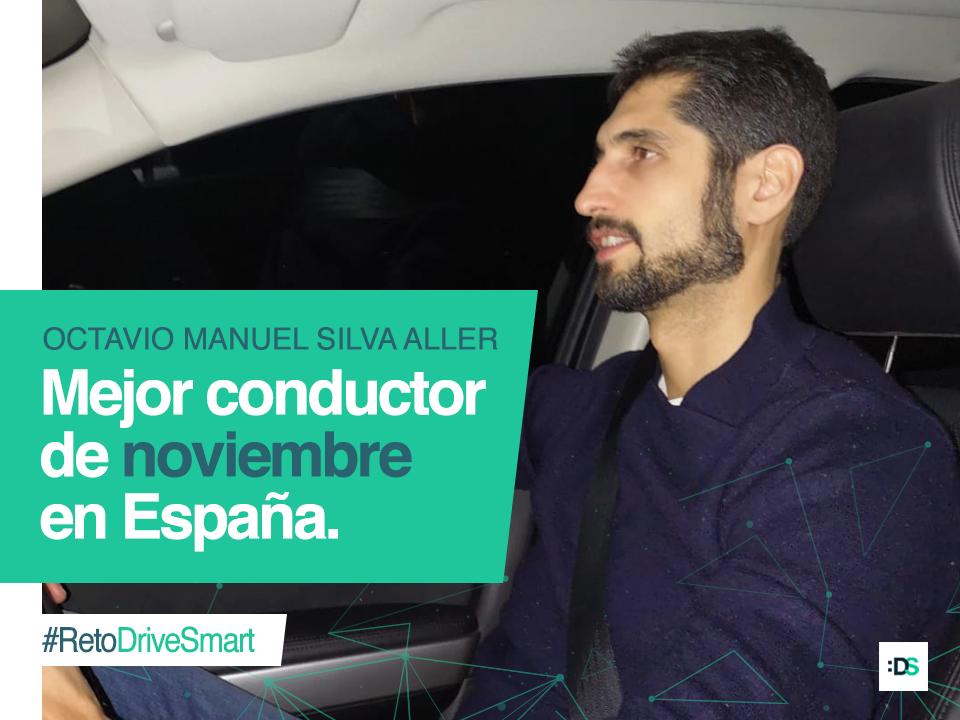 El mejor conductor de España de noviembre de 2018