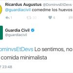 Los 10 tuits más divertidos de la Guardia Civil
