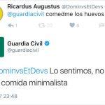 Los 10 tuits más divertidos de la Guardia Civil