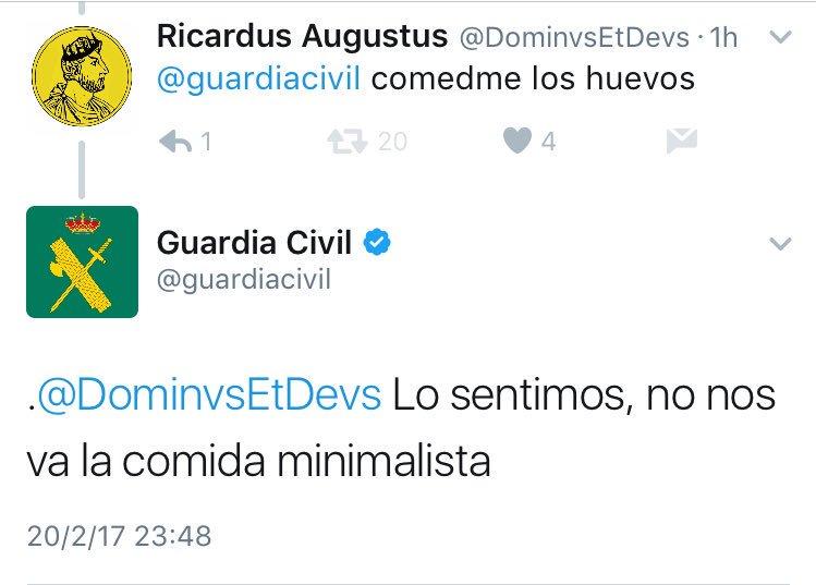 Guardia Civil Twitter