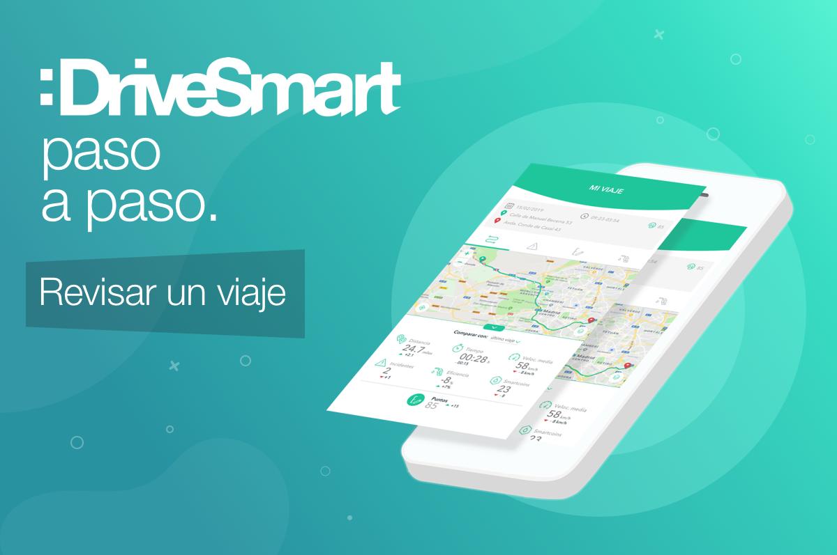 ¿Sabes cómo ver todos los detalles de tu viaje en :DriveSmart?