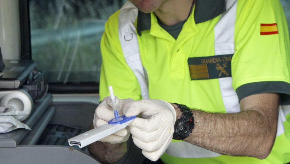 Control drogas en carretera