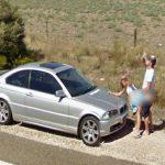 Las imágenes más curiosas captadas por Google Street View